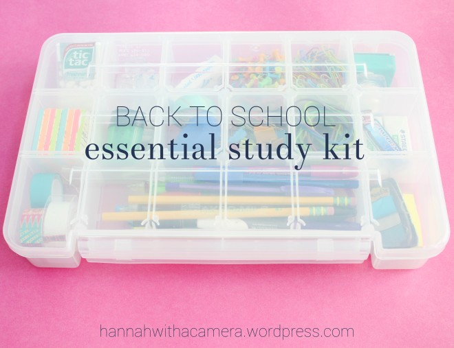 Everyone needs the essentials. Click through to find out my must haves for college.